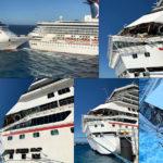 Messico, collisione tra due navi della Carnival Cruise Per fortuna solo un ferito