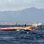 Golfo di Cagliari, Luna Rossa disalbera in allenamento. Incolume l'equipaggio