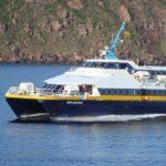 """Favignana, distrutta dal catamarano """"Acquarius"""" la pensilina in ferro"""