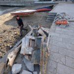Palermo, mareggiata danneggia il porticciolo di Sant'Erasmo