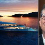 Bill Gates acquista Aqua, il primo yacht a idrogeno (costo 590 milioni di euro)