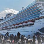 Virus, stanno bene gli italiani bloccati sulla nave  in Giappone