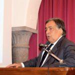 Msc Grandiosa a Palermo, il benvenuto del sindaco Leoluca Orlando
