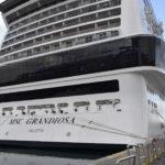 Ripartono le crociere, il 19 agosto Msc Grandiosa sarà  al porto di Palermo
