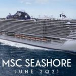 Monfalcone, presso lo stabilimento Fincantieri il   float out di MSC Seashore