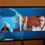 L'assessore regionale ai Beni culturali Alberto Samonà al Blue Sea Land
