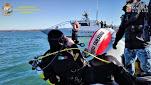 Bomba di aereo a Tarquinia, GdF e Marina Militare mettono in sicurezza i fondali