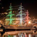La nave scuola Amerigo Vespucci festeggia i suoi primi 90 anni
