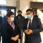 Il viceministro Bellanova a Trapani-Birgi. E Ombra le chiede tutele