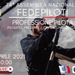 Fedepiloti, il 28 aprile su Facebook e YouTube la 74ª Assemblea Nazionale