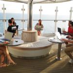 L'agenzia online Ticketcrociere in smart working su Costa Smeralda