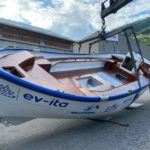 """Si chiama """"ev-ita"""" la prima barca con motore elettrico a navigare le Egadi"""
